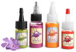 Clear PET Plastic Tattoo Ink Bottles