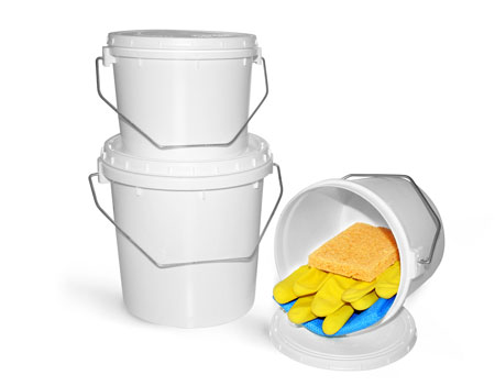 Plastic Pails To Organize Your Shop Or Garage