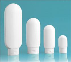 White Plastic Bottles