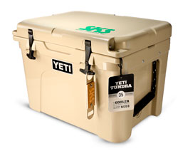 Win A Yeti Cooler Package!